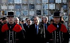 Torra responde al Rey: «En Cataluña no hay un problema de convivencia sino de democracia y de justicia»