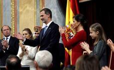 Las Juntas de Bizkaia aprueban un alegato contra la monarquía por «anacrónica»