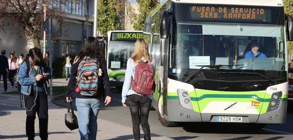 La Diputación destinará 17,4 millones para «reequilibrar» los gastos de las concesionarias del Bizkaibus