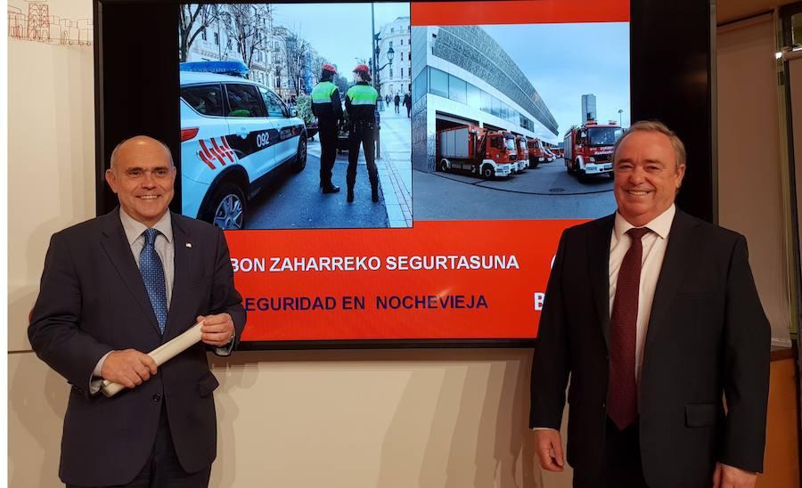 Bilbao registra un repunte de incidentes en Nochebuena con material pirotécnico