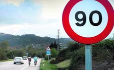 El Gobierno fija un plazo de un mes para rebajar a 90 km/h la velocidad en las vías secundarias