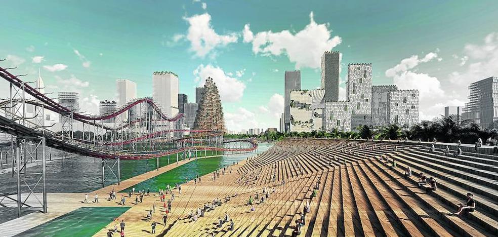 La ciudad del futuro se levanta en China