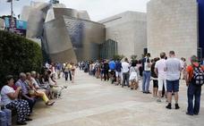 El Guggenheim firmó en 2018 su tercer mejor año con 1,26 millones de visitantes