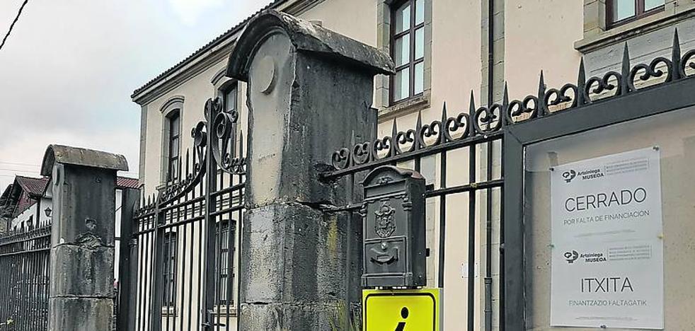 El Museo Etnográfico de Artziniega cierra sus puertas «por falta de financiación»