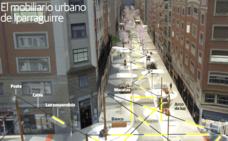 Bomberos de Bilbao ven peligroso el adorno de luz previsto en Iparraguirre