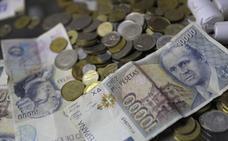 Los españoles conservan pesetas por valor de 1.626 millones de euros