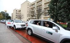 Los mayores de Leioa, en taxi a Bilbao a ver las luces navideñas