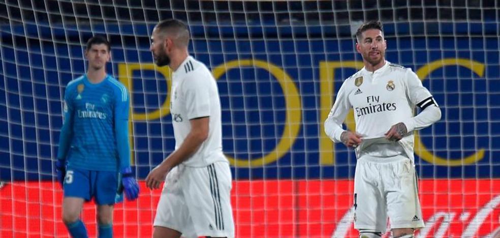 Sin plan ni actitud, el Madrid tira la Liga