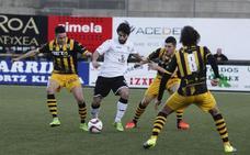Larrazabal pide «efectividad» de cara al derbi frente al Gernika