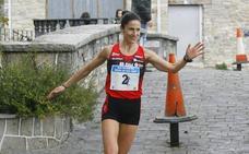 Elena Loyo, aspirante al podio en el Cross Internacional de Zornotza