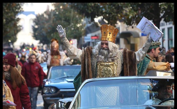 Los Reyes llegan a Vitoria