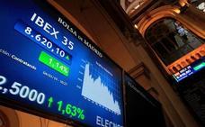 Los valores que más suben y bajan de la semana en el Ibex 35
