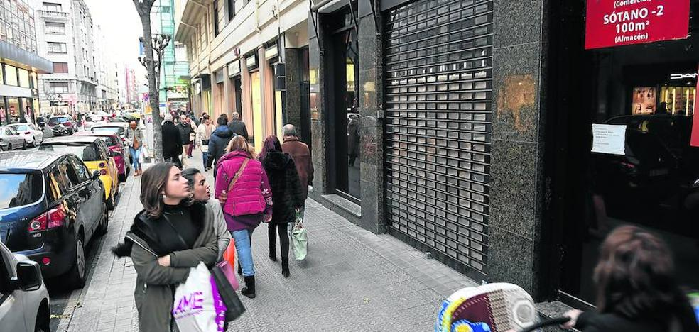 El comercio vizcaíno remata el «peor año» de su historia con el cierre de 300 negocios
