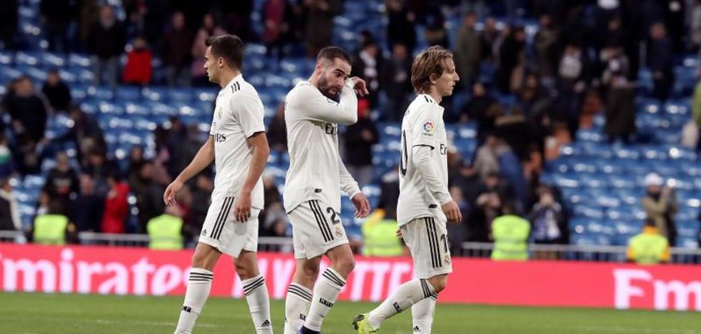 El Madrid paga errores sin ayuda del VAR