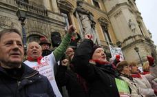 Los pensionistas vizcaínos auguran al menos otros seis meses de protestas