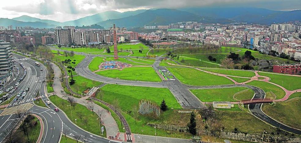 10.500 metros cúbicos de tierra protegerán el parque Etxebarria de su subsuelo contaminado