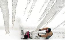 Puñales de hielo