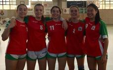 Euskadi se nutre de la comarca de Nervión para el nacional de balonmano disputado en Valladolid