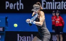 Muguruza se retira del Torneo de Sidney por una gastroenteritis