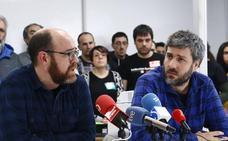 Profesores de FP se encierran en Mendizabala para reclamar acceso a las oposiciones