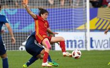 Lucía García, convocada para los amistosos ante Bélgica y Estados Unidos