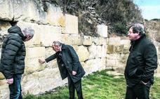 Iruña-Veleia presume de muralla