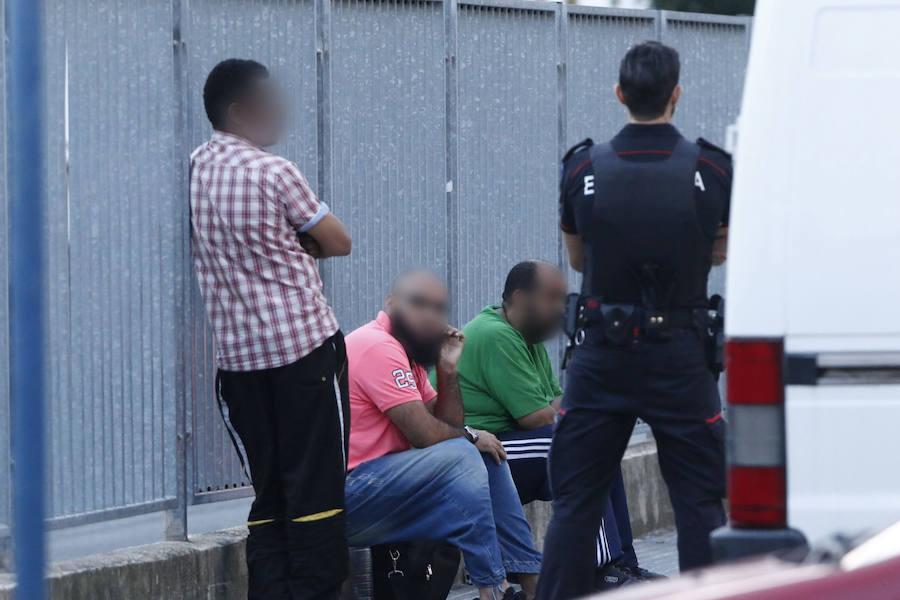 Alerta yihadista en Vitoria tras identificar a un implicado en un accidente