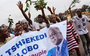 El opositor Tshisekedi gana las presidenciales en Congo entre denuncias de fraude