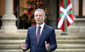 Urkullu muestra su «suma preocupación» por la situación andaluza
