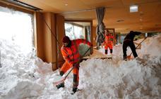 Fuertes nevadas siembran el caos en el sur de Alemania y Austria
