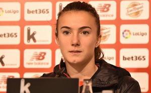 Ane Azkona: «Era cuestión de tiempo que entrase el primer gol»
