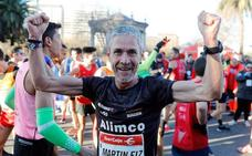 Martín Fiz logra el récord del mundo de 10 kilómetros en Máster 55 años