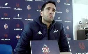 «Tenemos que ser conscientes de que tenemos que ganar», advierte Iñigo Vélez