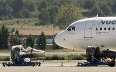 Las Juntas piden a Aena una radiografía de los vuelos de buitres en Loiu