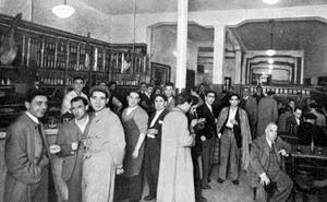Así eran las tabernas de Bilbao en los años 40