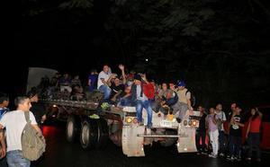 Una nueva caravana de migrantes parte de Honduras rumbo a EE UU