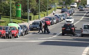 Los mayores de Getxo reclaman reducir a 30 por hora la velocidad en el casco urbano