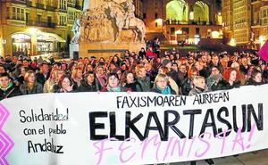 Vitoria se suma a la ola de protestas feministas contra Vox