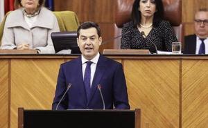 Moreno promete gobernar Andalucía «sin cordones sanitarios» a la extrema derecha