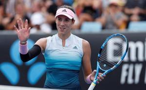 Muguruza arranca con victoria en el Open de Australia