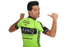Elkano, en el maillot del Euskadi-Murias