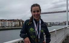 Saioa Telleria se proclama campeona de Euskadi en marcha