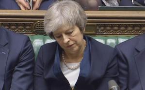 El Parlamento británico rechaza el Acuerdo de Salida de la UE por mayoría de 230