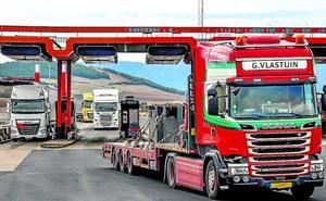 El tráfico de camiones se duplica en la autopista entre Burgos y Miranda desde que es gratuita