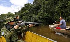 Contra las minas del Amazonas