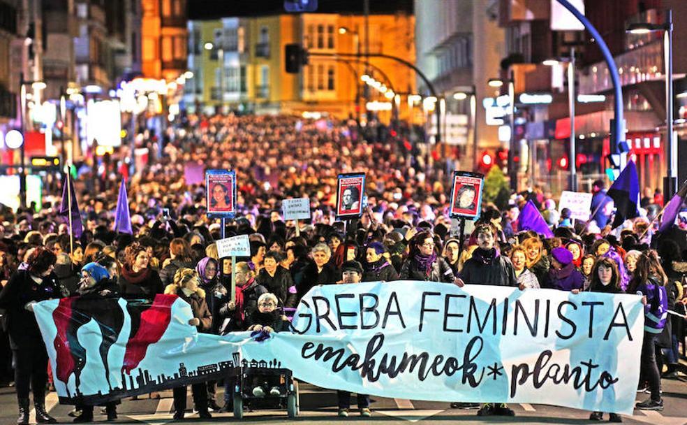 El Movimiento Feminista llama a paralizar Euskadi el 8 de marzo