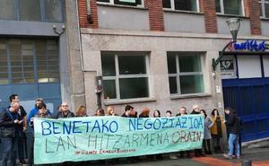 La patronal dice que un 22% de los trabajadores de los colegios ha hecho huelga, aunque los sindicatos lo elevan al 60%
