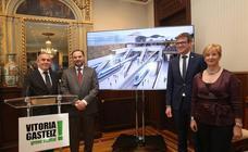 Soterrar el tren y la nueva estación de Vitoria supondrán una inversión de 435 millones y tres años de obras