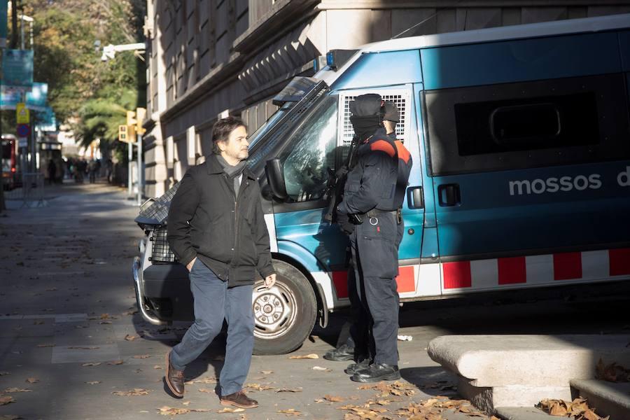 Oriol Pujol ingresa en la prisión de Brian II por el caso ITV