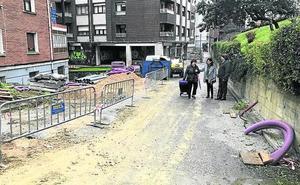 Santurtzi invierte un millón de euros en urbanizar Jenaro Oraá y Murrieta